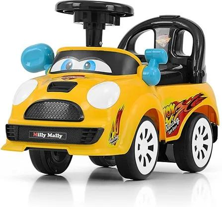 MILLY MALLY | Milly Mally JOY | Detské odrážadlo so zvukom Milly Mally JOY yellow | Žltá |