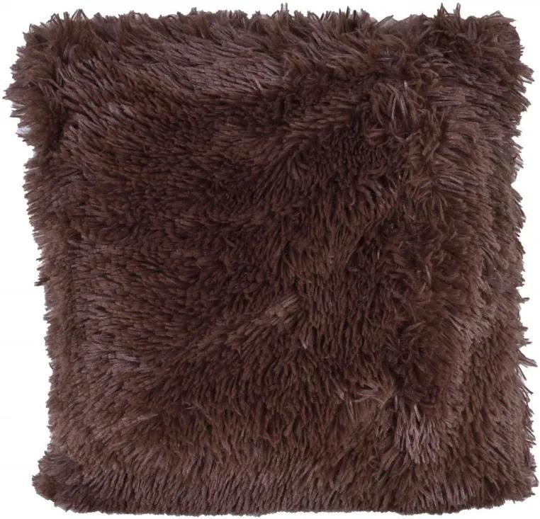 TZB Obliečka na vankúš Plyus 40 × 40 cm čokoládový
