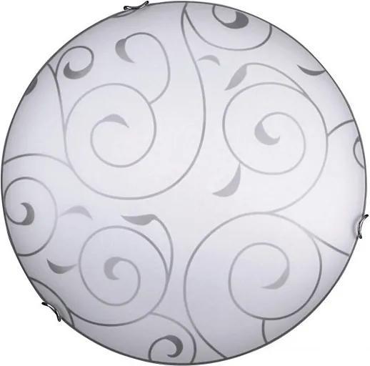 Rábalux 3857 Lampy UFO chróm biely E27 3x MAX 40W Ø500 mm