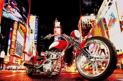 Fototapety, rozmer 175 x 115 cm, motocykel, W+G 653