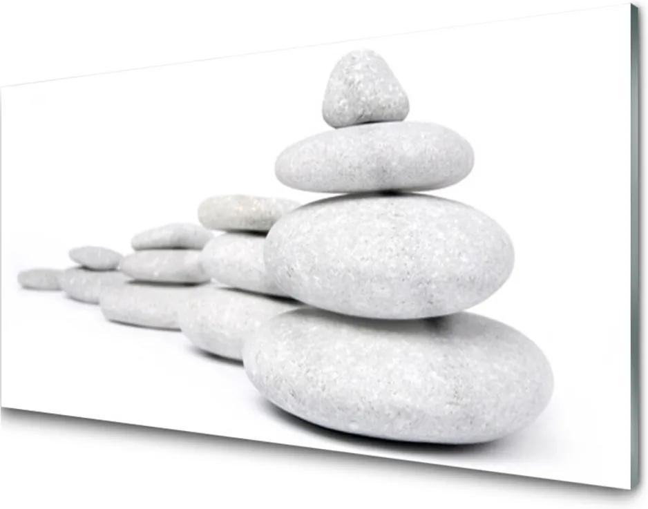 Obraz na skle Skleněný kameny umění