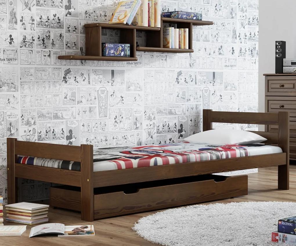 AMI nábytok Posteľ orech Kenta VitBed 90x200cm