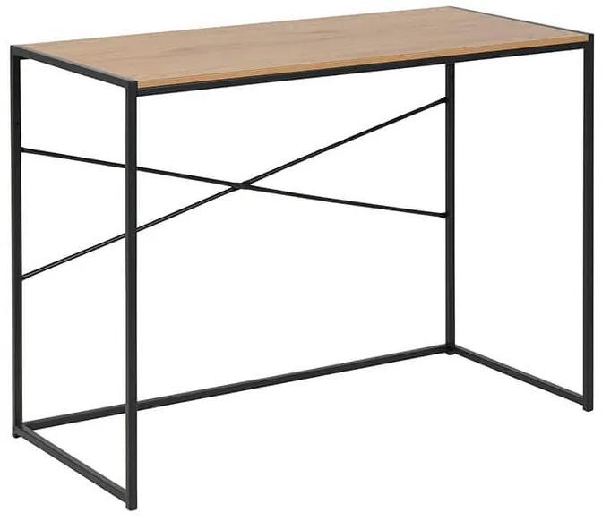 Seaford písací stôl dub tmavý