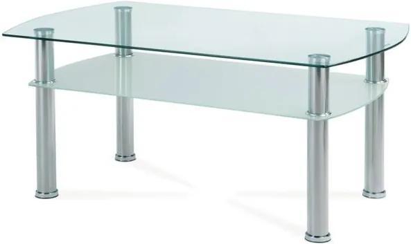 Sconto Konferenčný stolík HAGEN 1 sklo/kov