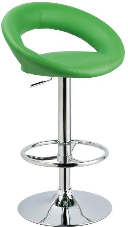 Najlacnejsinabytok Barová stolička C-300, zelená