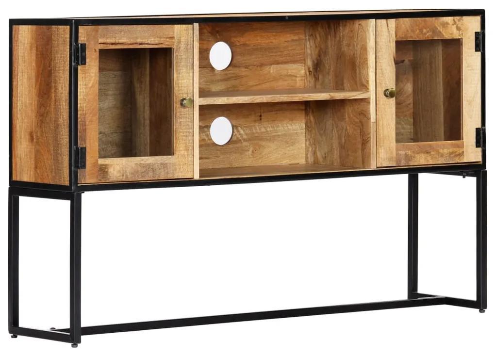 vidaXL TV skrinka 120x30x75 cm masívne recyklované drevo