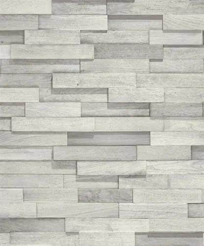 Vliesové tapety, drevený obklad sivý, Facade FC2101, GRANDECO, rozmer 10,05 m x 0,53 m
