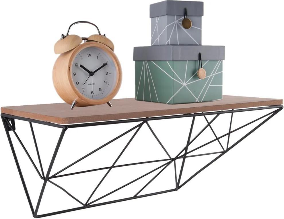 PRESENT TIME Sada 2 ks − Polička Raster − drevená