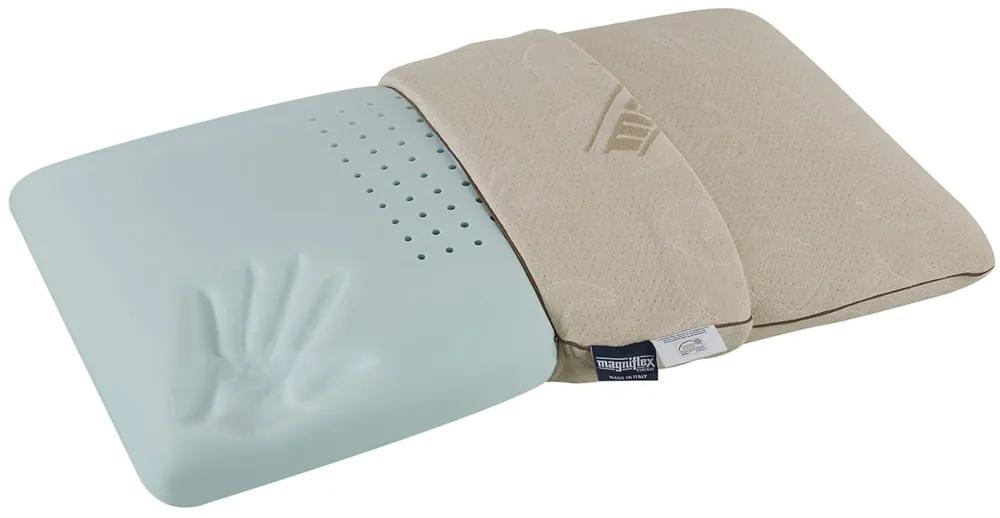 Magniflex Anatomický vankúš Magniflex Cotton Deluxe Standard neprofilovaný
