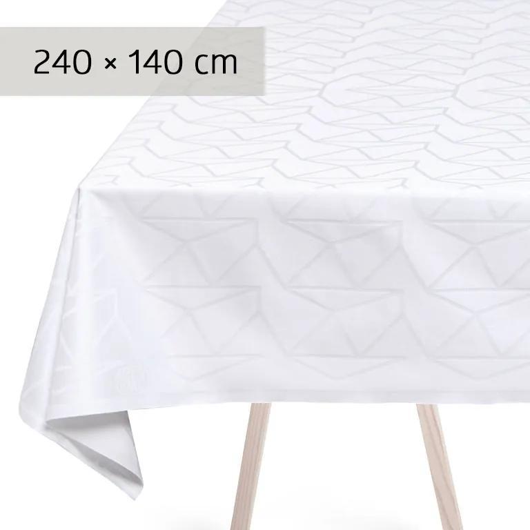 GEORG JENSEN DAMASK Obrus white 240 × 140 cm ARNE JACOBSEN