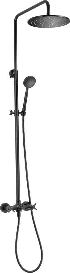 Sprchový set Deante Temisto čierna