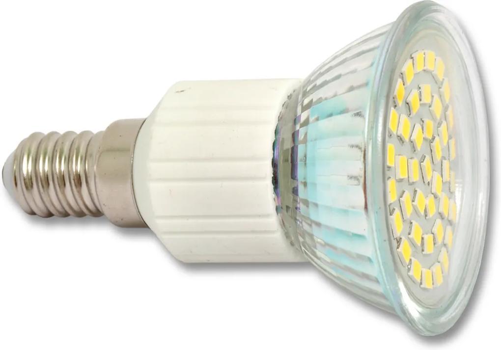 Ecolite LED žiarovka E14 4,4W teplá biela