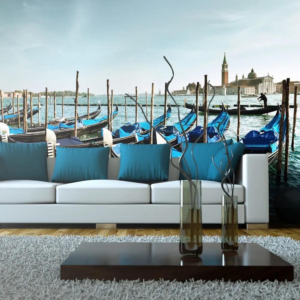 Fototapeta XXL - Gondolas on the Grand Canal, Venice 550x270