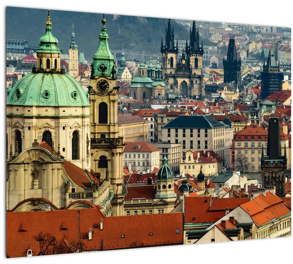 Obraz - Panorama Prahy (70x50 cm), 40 ďalších rozmerov