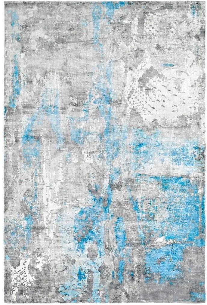 Obsession koberce Ručně tkaný kusový koberec Taste of obsession 120 BLUE - 80x150 cm