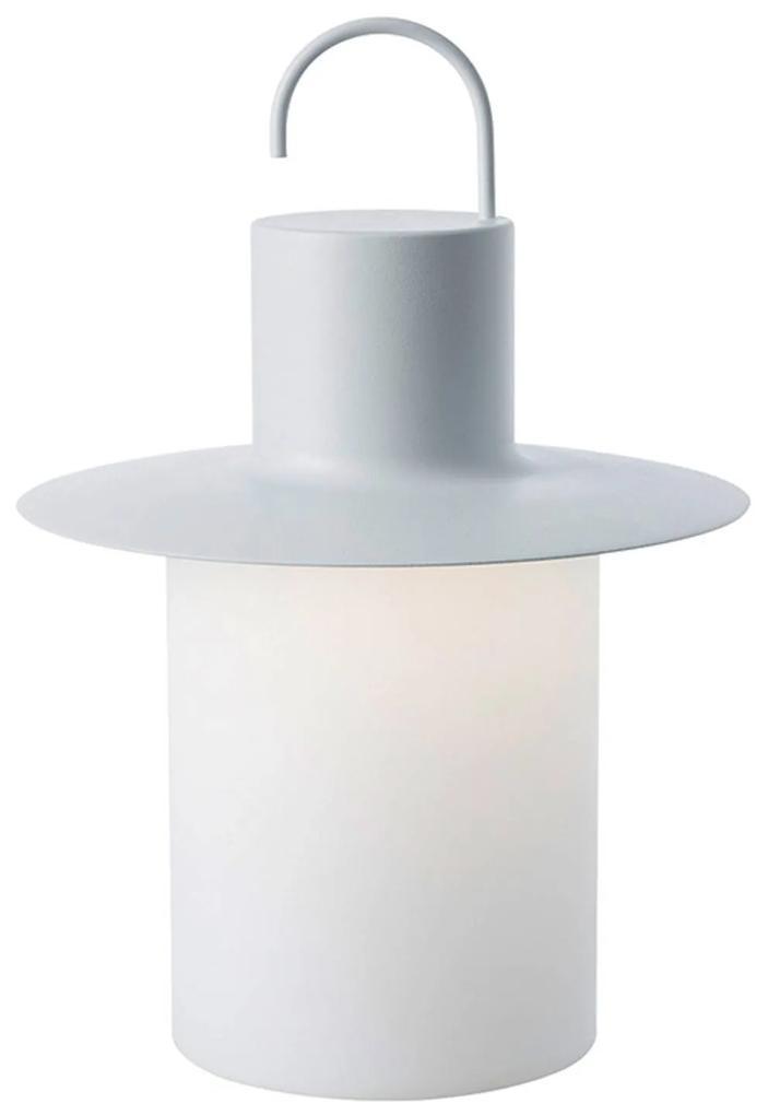 Terasová LED lampa Nautic 6x USB, biela