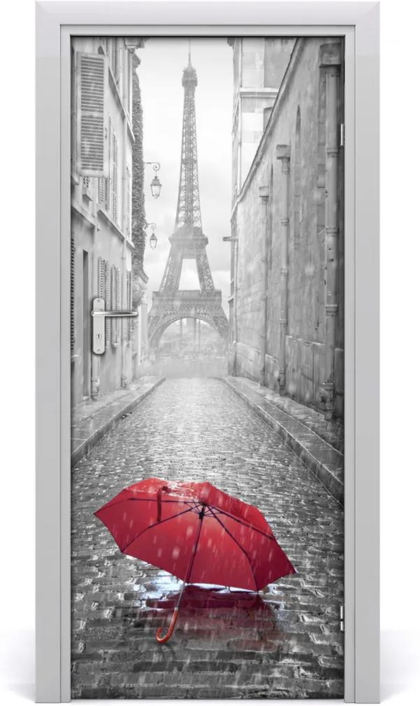 Fototapeta samolepící na dveře Deštník francie