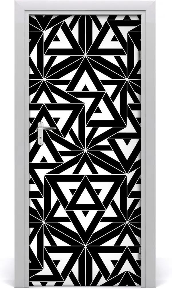 Fototapeta na dveře Geometrické pozadí