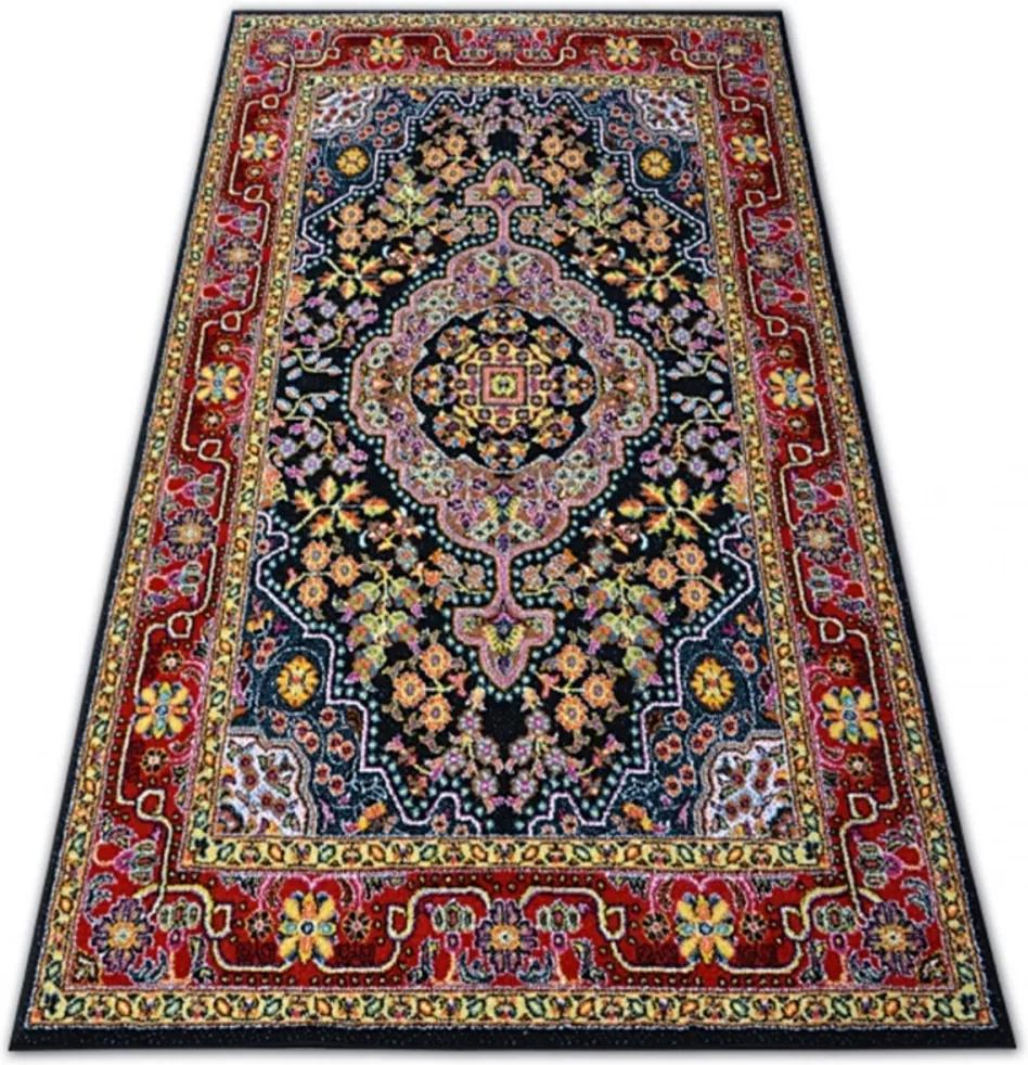 Kusový koberec Tradičný čierny, Velikosti 120x170cm