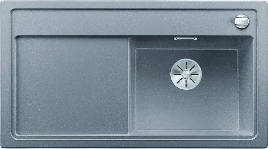 Granitový kuchynský drez - Blanco Zenari 5 S aluminium 523936