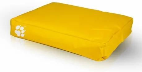 Vankúš pre psa a mačku ECOPUF - large NC4 - Žltá