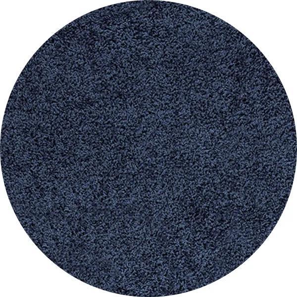 Ayyildiz koberce Kusový koberec Life Shaggy 1500 navy kruh - 80x80 (průměr) kruh cm