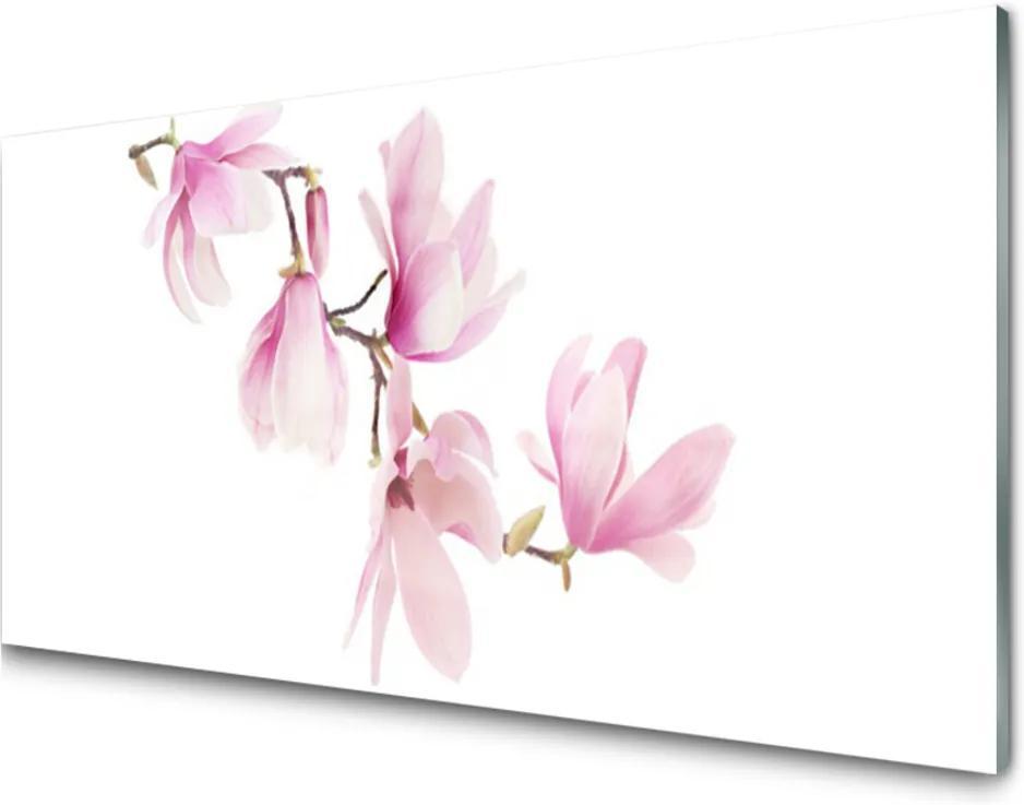 Sklenený obklad Do kuchyne Kvety Rastlina Príroda