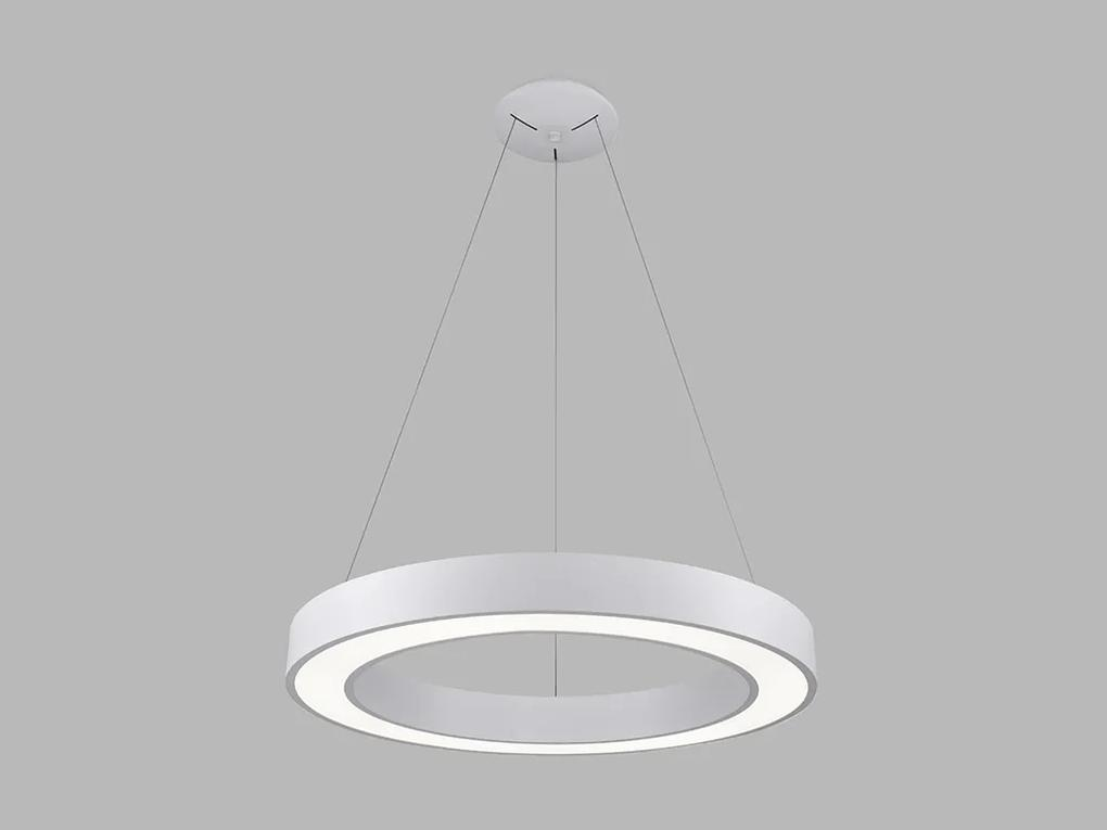 LED2 3270751 SATURN 60 P-Z kruhové stropné závesné stmievateľné svietidlo 50W/2330lm 3000K/4000K biela