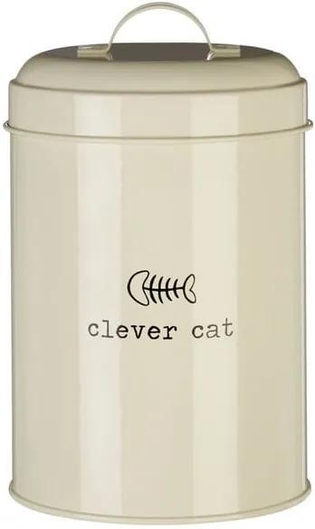 Dóza na krmivo pre mačky Premier Housewares Clevr Cat, 1,2 l