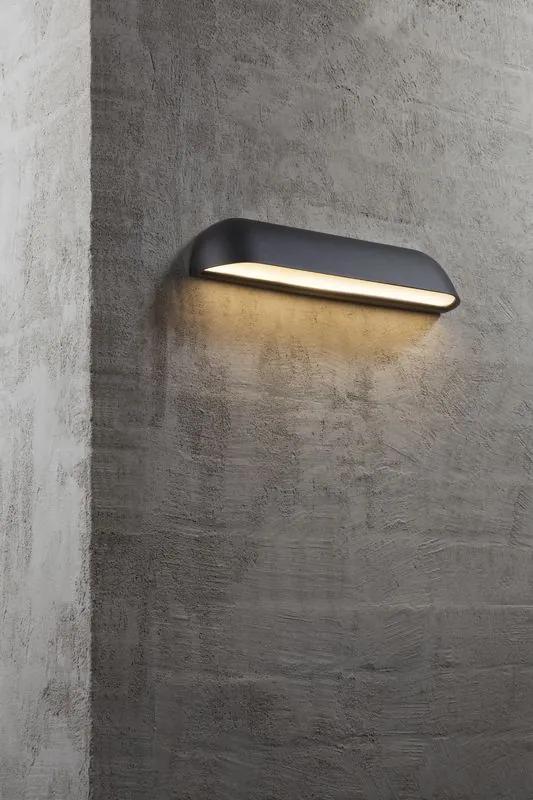 FRONT 36 | dizajnové nástenné svietidlo IP44 Farba: Čierna