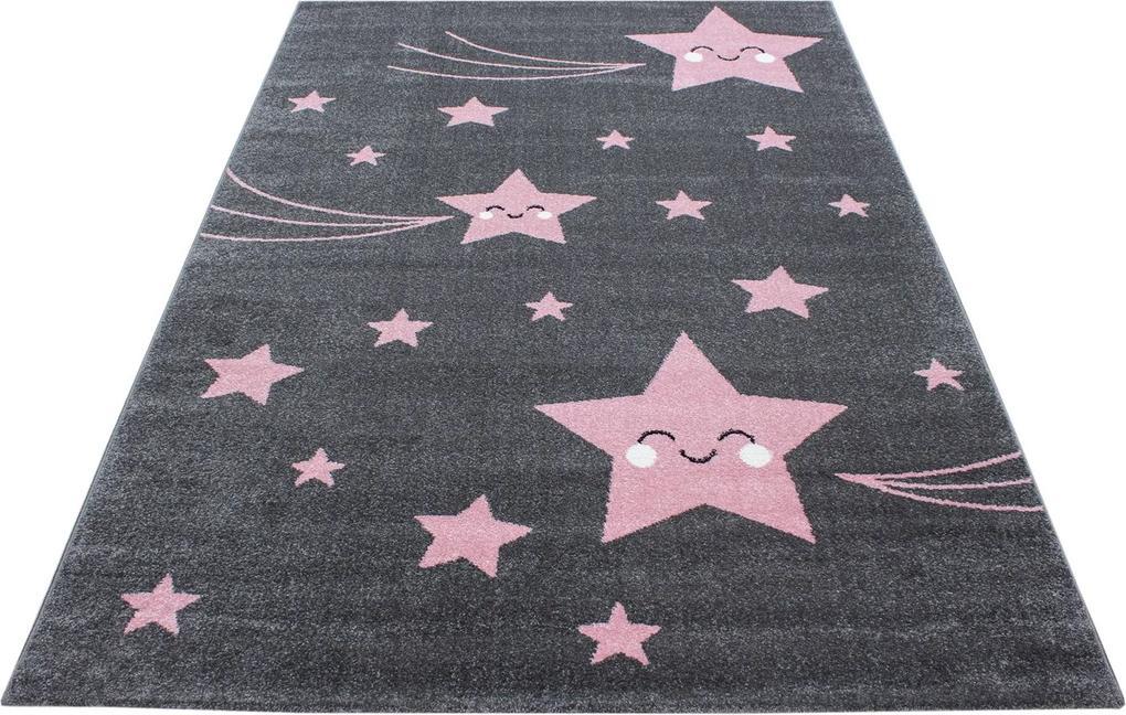 Ayyildiz koberce Kusový koberec Kids 610 pink - 80x150 cm