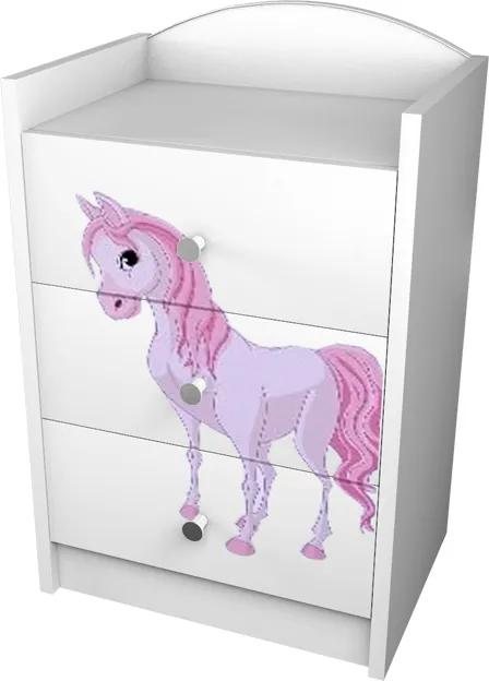 OR Komoda Mery K03 Motív: I - Princezna s koníkom