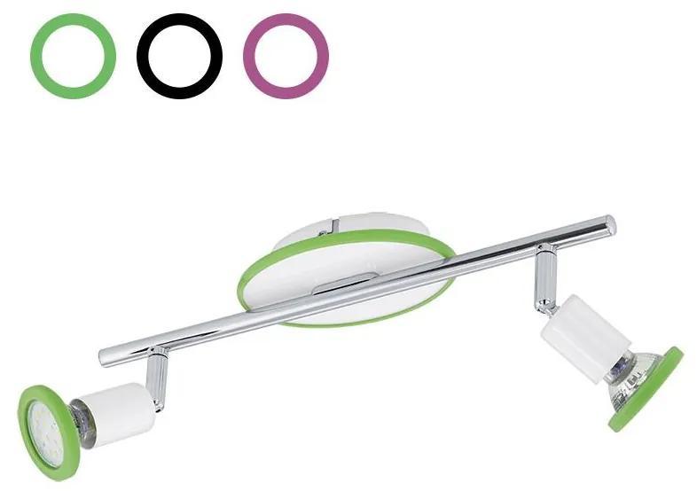 Eglo Eglo 94172 - LED bodové svietidlo MODINO 2xGU10/3W/230V EG94172