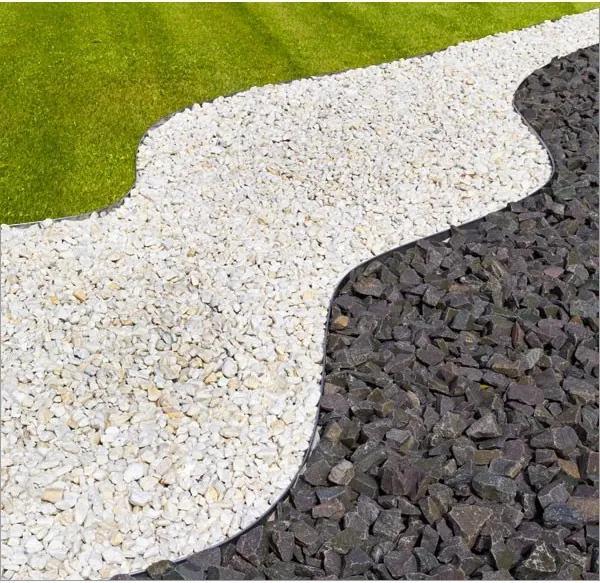 Oceľový obrubník do záhrady 118 x 20 cm