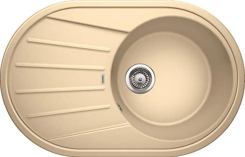Granitový kuchynský drez - Blanco TAMOS 45 S béžová champagne 521394