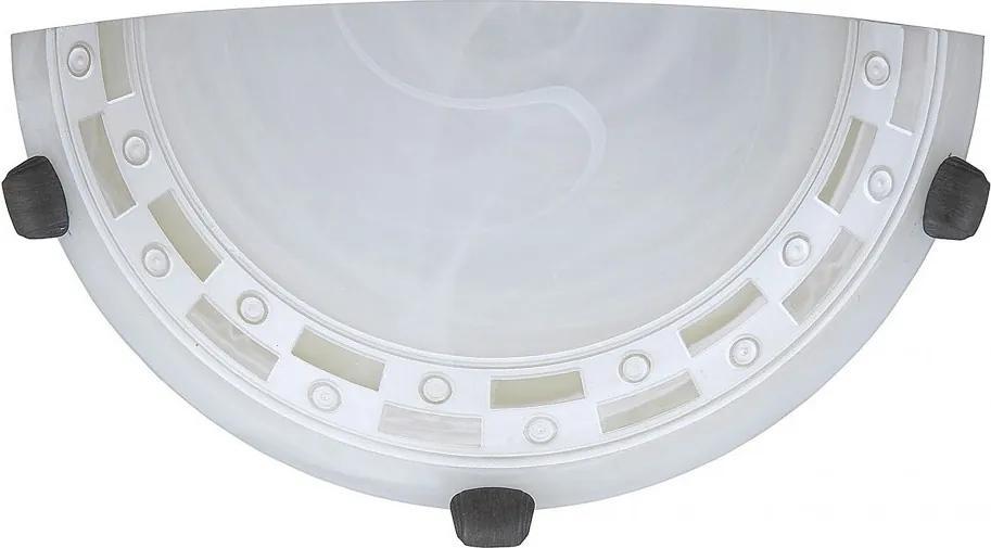 Rábalux 3481 Polkruhy alabaster alabaster E27 1x MAX 60W Ø300 mm