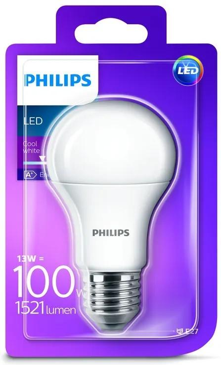Philips LED 13W / 100W E27 CW A60 FR ND