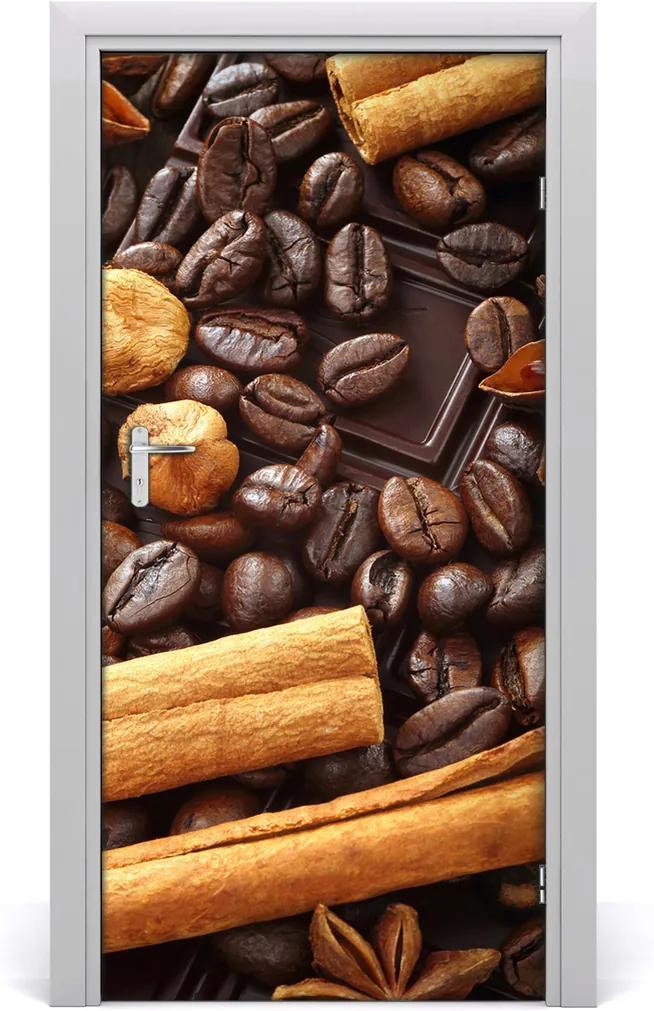 Fototapeta na dveře samolepící Hořká čokoláda