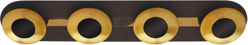 Rábalux 2554 Nástenné Svietidlá hnedý pozlatený LED 20W