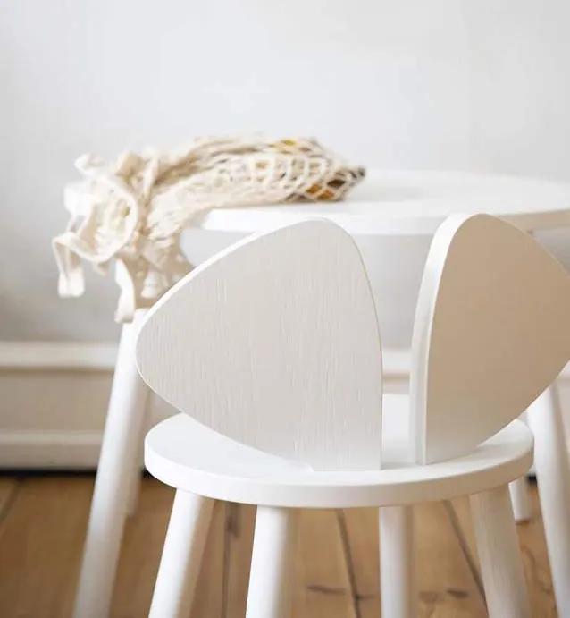 Stolička Nofred Mouse biela