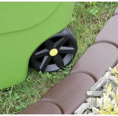 Prosperplast Záhradná palisáda hnedá, 382,7 cm, 382,7 cm