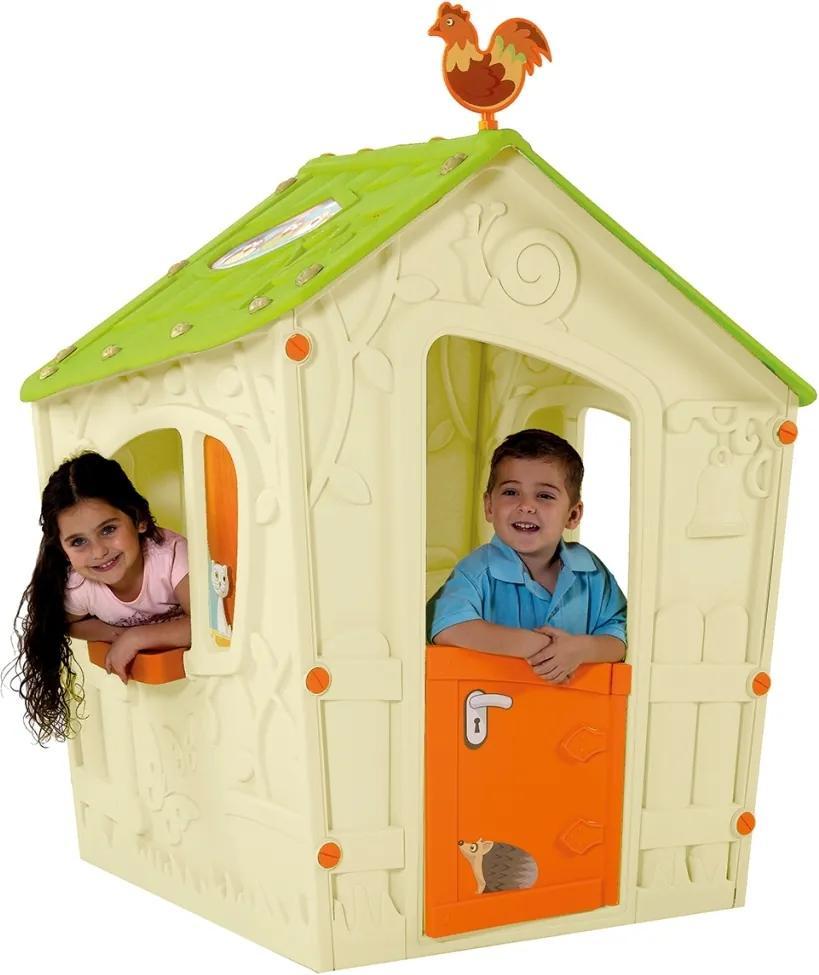 Marimex | Detský domček Magic Play House - béžová + zelená | 11640120