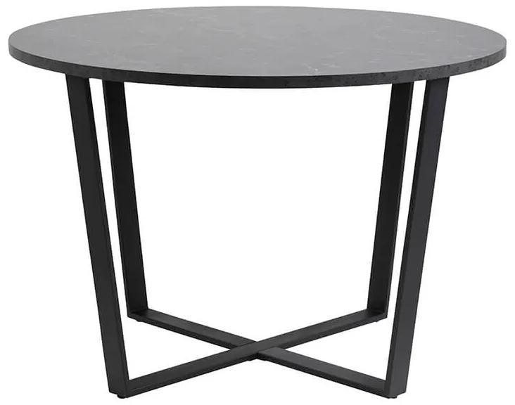 Amble jedálenský stôl R110 čierny melír