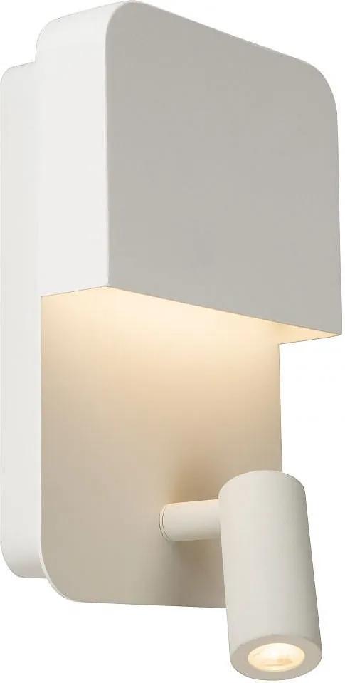 LUCIDE 79200/08/31 BOXER Nástenné svietidlo LED 5w+3W 375lm 3000K