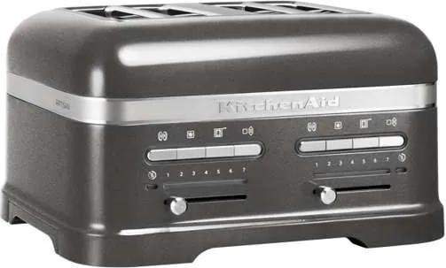 KitchenAid Artisan Toaster KMT4205, 4 plátkový, sivý