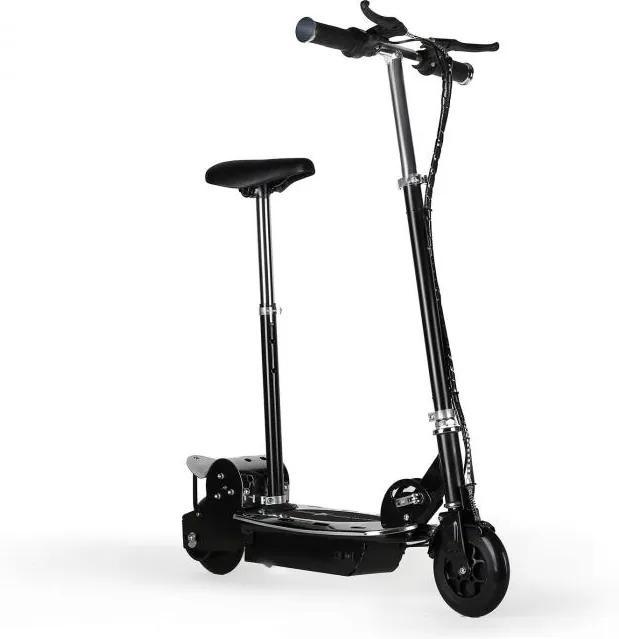 Takira V8, elektrická kolobežka so sedadlom, čierna, 16 km/h, batéria