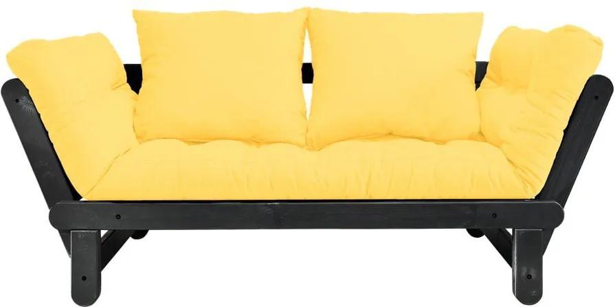 Variabilná pohovka Karup Design Beat Black/Yellow