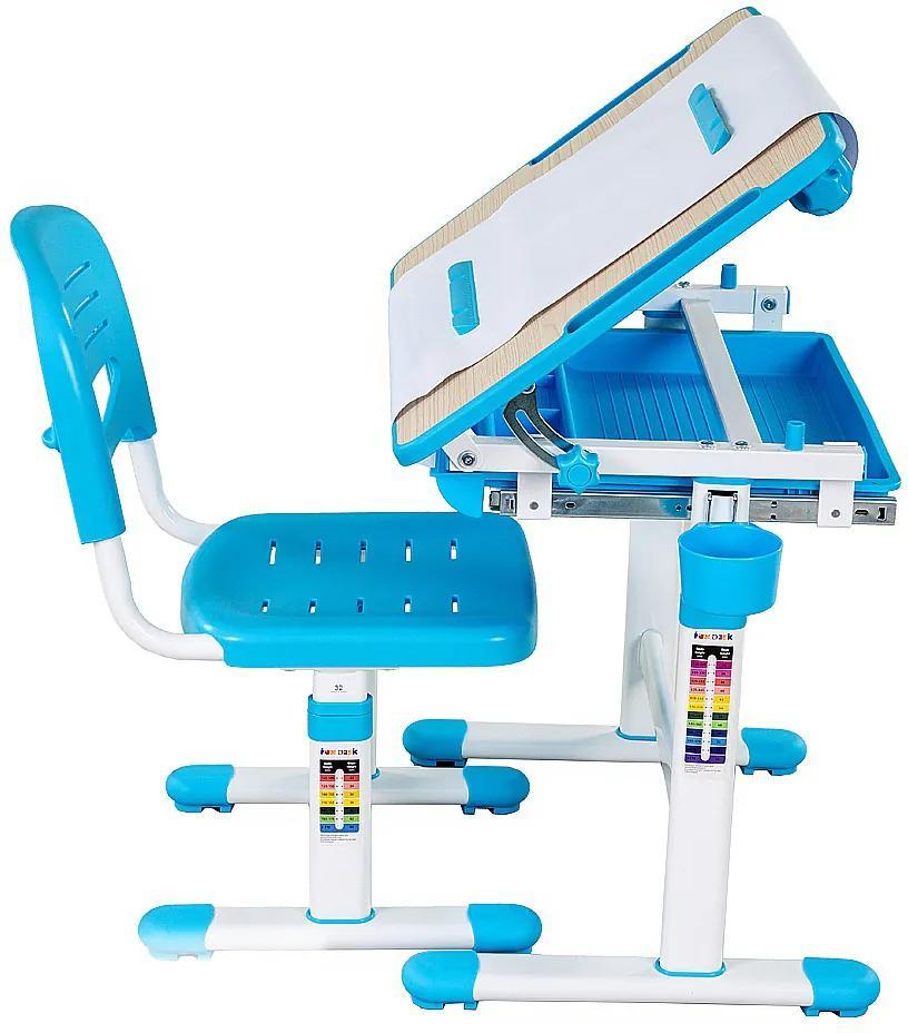 FD Rastúci stôl a stolička Banabius - viac farieb Farba: Modrá