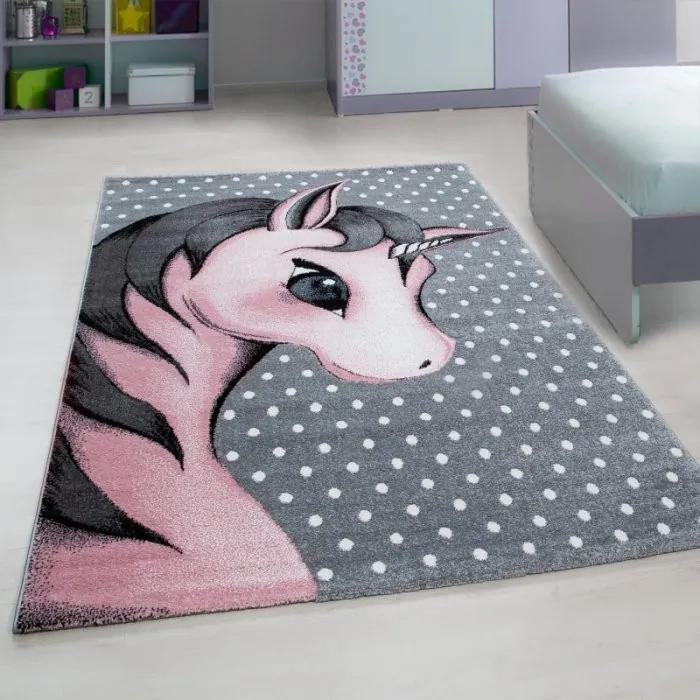 Ayyildiz koberce Kusový koberec Kids 590 pink - 80x150 cm