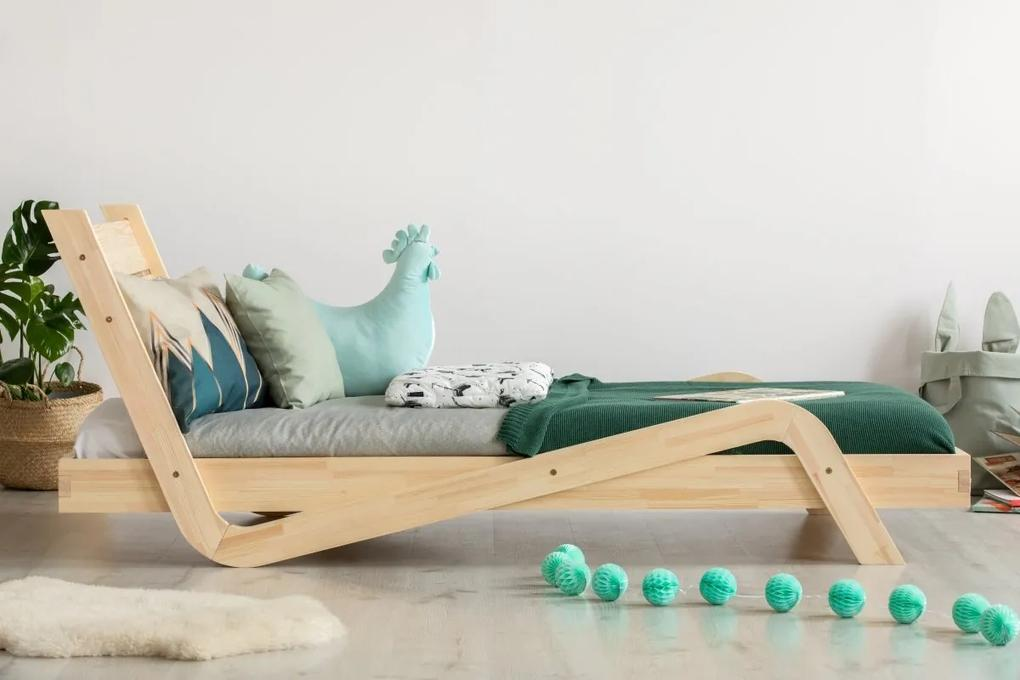 MAXMAX Detská posteľ z masívu BOX model 10 - 120x60 cm [CLONE] [CLONE] [CLONE] [CLONE] [CLONE] [CLONE] [CLONE] [CLONE] 180x80 pre dievča pre chlapca pre všetkých NIE